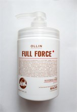 Ollin FULL FORCE Intensive restoring mask with coconut oil Интенсивная восстанавливающая маска с маслом кокоса 650ml