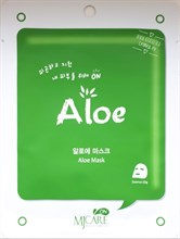 Mijin Care Mask Aloe Маска тканевая с алое 25g