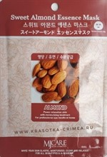 Mijin Essence Mask Sweet Almond Маска тканевая для лица с экстрактом миндаля 23g